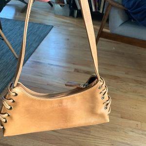 Steve Madden handbag, tan, faux leather